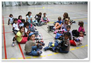 INLINE SKATING LESSONS FOR CHILDREN