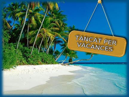 TANQUEM FINS EL 28 PERO HI HA RUTA FACIL! tancat-per-vacances ...